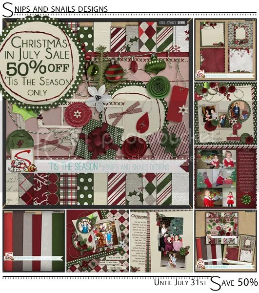 SNS Christmas in July Sale 50% Off