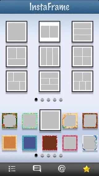 Multiple Picture Frame Instagram Framess