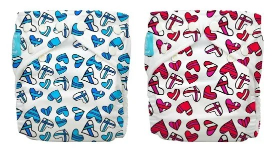 Coolest baby gifts of the year: Charlie Banana Hearts cloth diapers   Cool Mom Picks Editors' Best