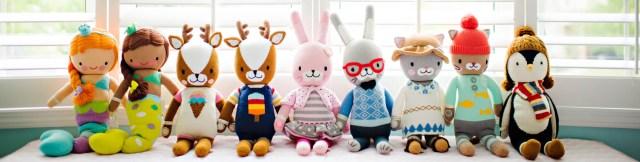 Cuddle & Kind handknit dolls help feed needy kids too