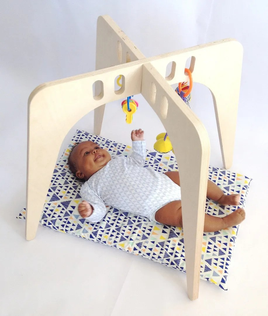 Coolest baby gifts of the year: Wooden baby play gym from Nin and June   Cool Mom Picks Editors' Best