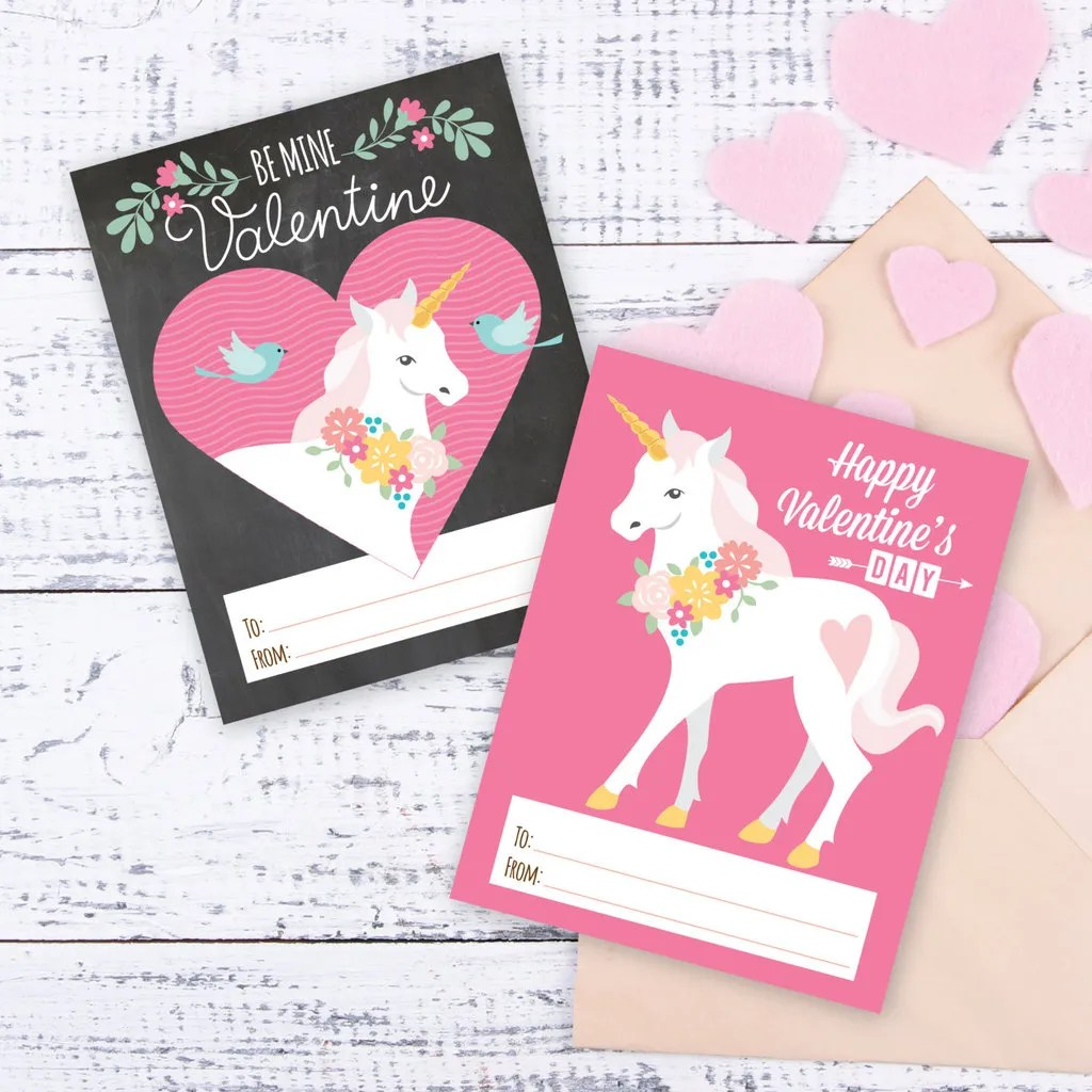 30 Super Cool Printable Valentine S Cards For The Classroom