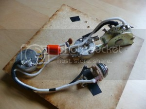Telecaster 4Way wired Assembly  no load pot