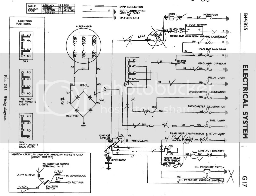 Gambar Wiring Diagram For B44 Victor Britbike Forum Jpeg Gif 1969 Bsa News