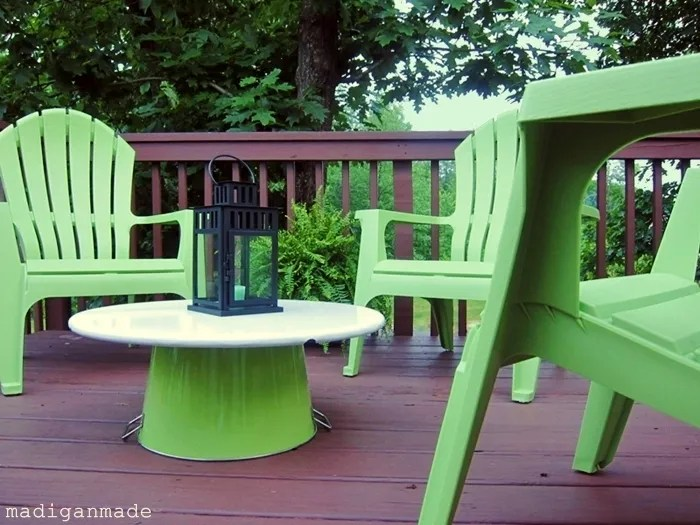 What I Like About These Plastic Adirondack Chairs Is That They Are  Comfortable And Easy To Clean. They Are Lightweight And Stackable, Making  Them Portable ...