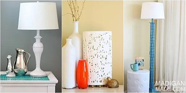 DIY lamp project ideas