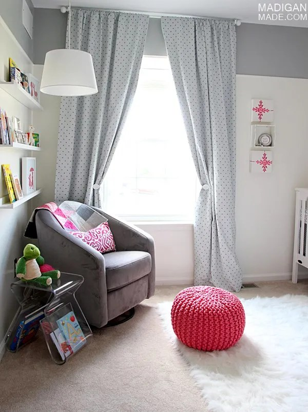 pink and gray nursery decor ideas