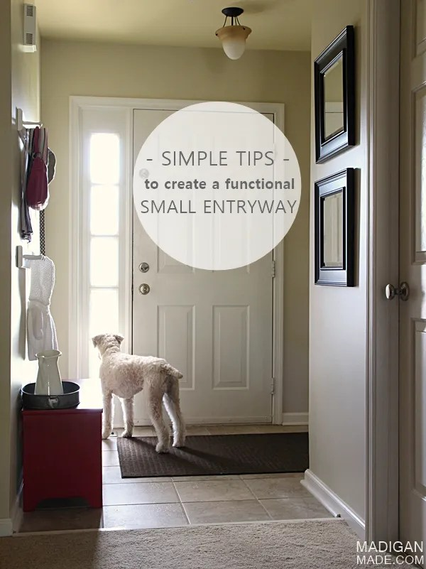 6 simple (and stylish) tips and update anyone can do to create a functional foyer