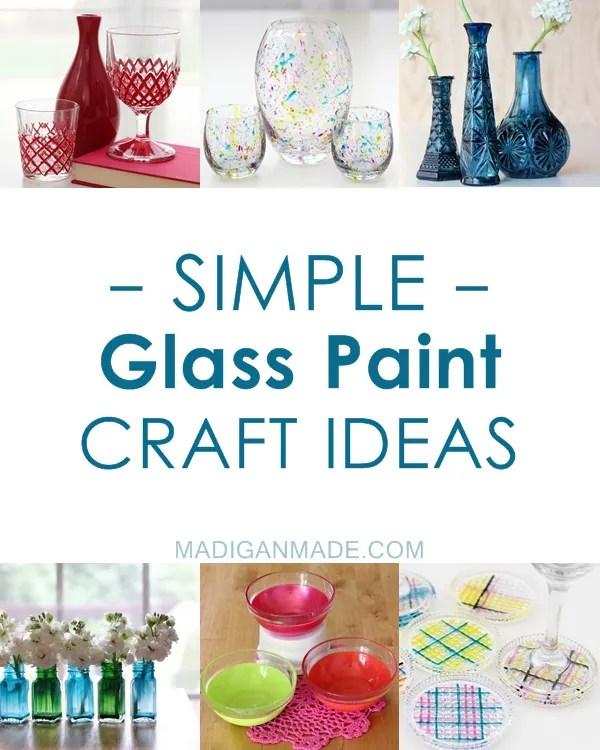 40 Simple Glass Paint Craft Ideas