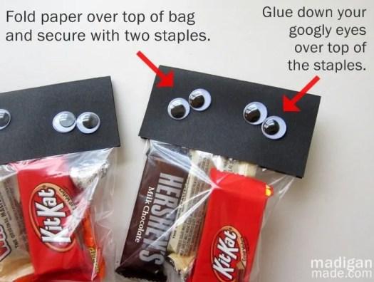 Easy Halloween Goody Bag Idea