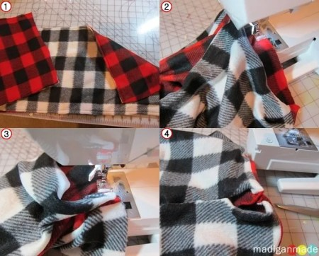 easy sew scarf how to sew a reversible cowl scarf