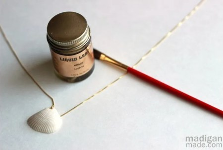 paint seashells supplies