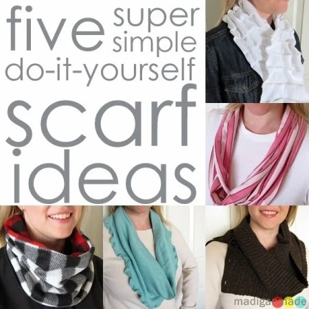 5 simple diy scarf ideas plus many more rosyscription madigan made easy tutorials for diy scarves solutioingenieria Images