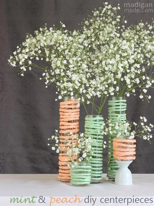 simple baby's breath diy centerpieces