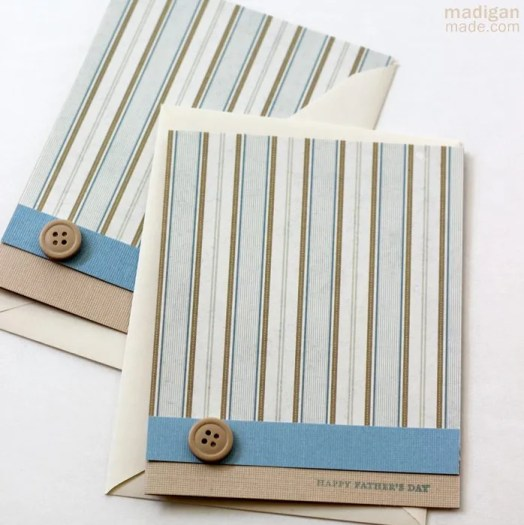 easy handmade greeting card for fathers