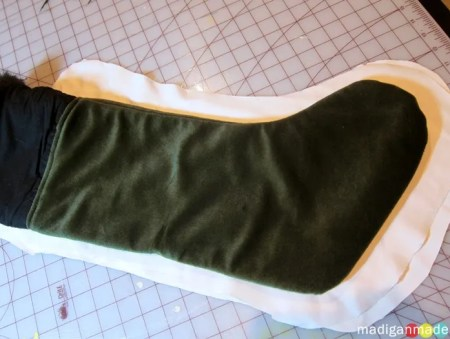 slipcover stockings how to pattern