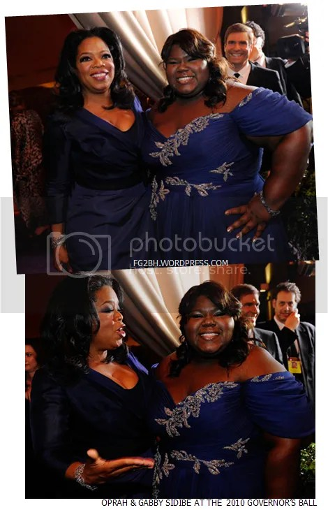 Oprah and Gabby Sidibe