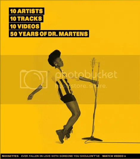 b1c22583eaa55e DrMartensTheir Anniversary Teams Up Of Noisettes 50th For 8nPXN0Owk