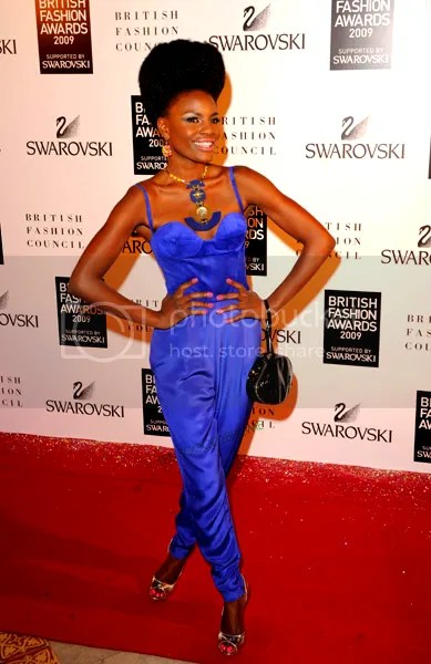 Shingai at 2009 British Fashion Awards