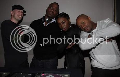 Estelle and DJ D Nice
