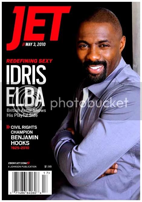 The Losers Movie Star Idris Elba Covers Jet