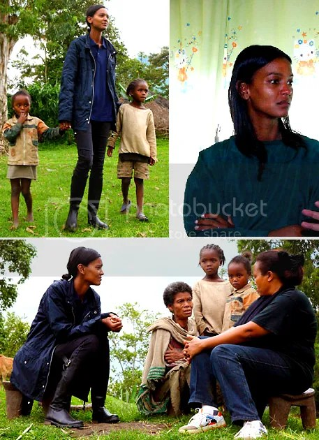 LIYA KEBEDE GIVES BACK