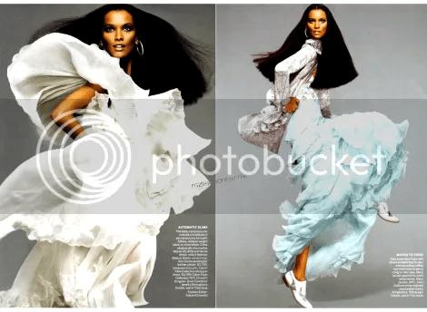 Liya Kebede's Vogue Moment