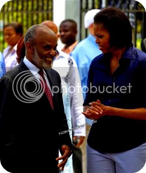MICHELEL AND RENE IN HAITI