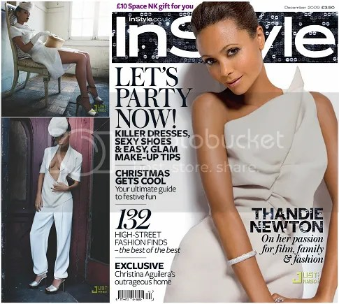 Thandie Newton InStyle UK December 2009