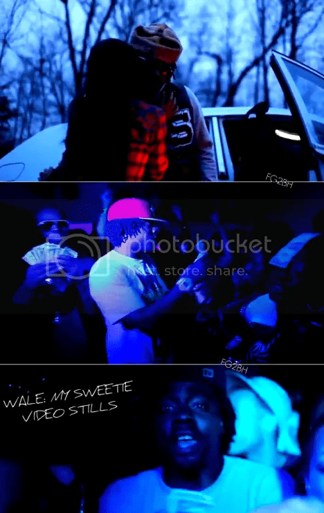 Wale MY sweetie video stills