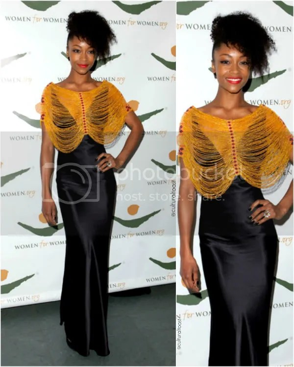 yaya dacosta at women for women event