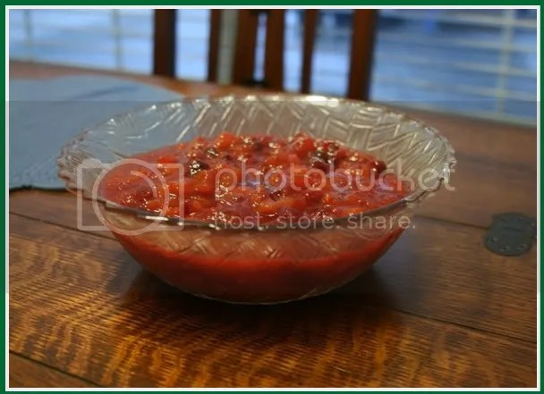 Fresh Cranberry-Apricot Sauce