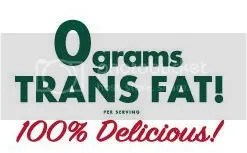 0 Grams Trans Fat