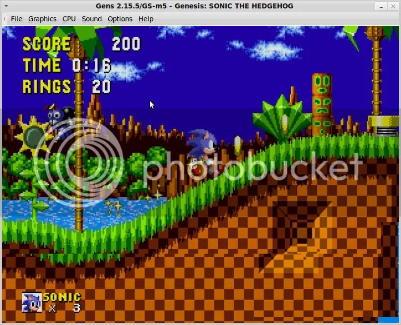 Sonic,Sega,Sega Genesis,Gens,WGens