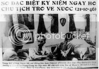 Hồ bàn kế họach lập chiêu bài sau khi bị Pháp tuyên chiến