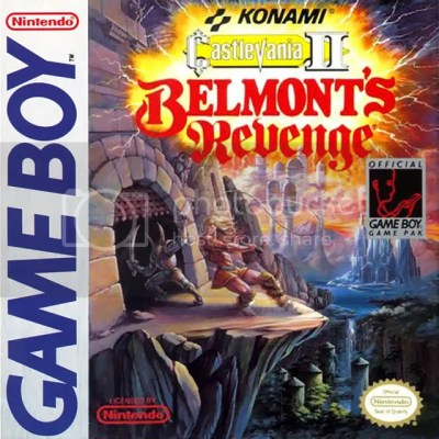 Simon is out for blood Top 10 Wish List of Original GB Games for 3DS Virtual Console eShop Top 10 Wish List of Original GB Games for 3DS Virtual Console eShop CastlevaniaII