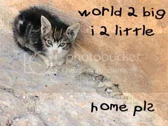 world too big i too little home please