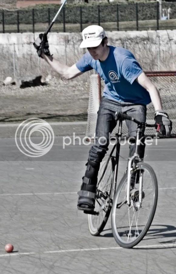 robby finn burlington vermont bike polo