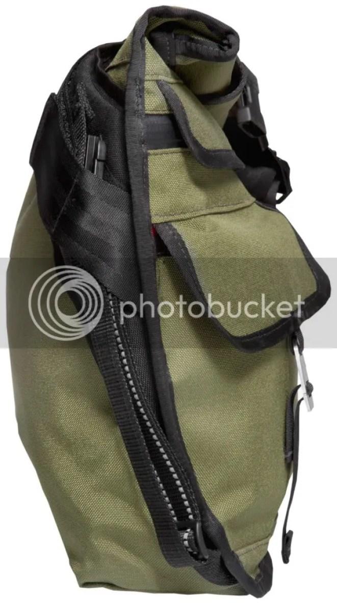Chrome Lieutenant Roll-top Messenger Bag