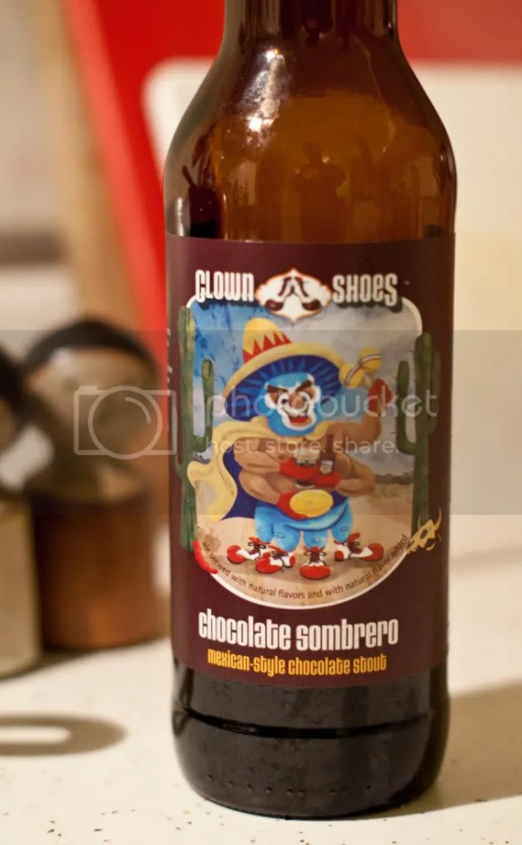 clown shoes chocolate sombrero review