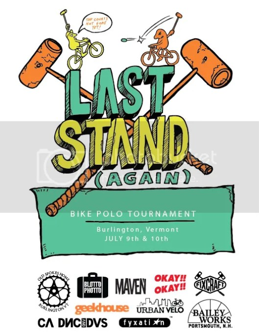 Last Stand Burlington Vermont Bike Polo