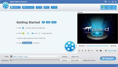 Tipard Video Converter 9.2.18 Multilingual Portable