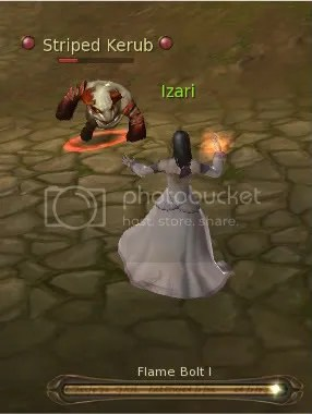 Fear My Fire Bolt Rank 1!
