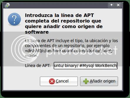 comentarios al añadir entradas al repositorio de software de ubuntu