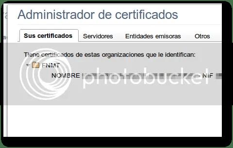 gestionar certificados digitales fábrica nacional de moneda y timbre
