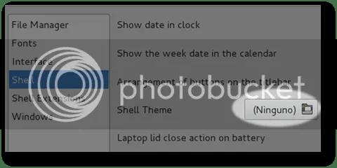 programa o aplicación para cambiar themes en gnome-shell