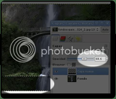 imagenes transparentes con gimp