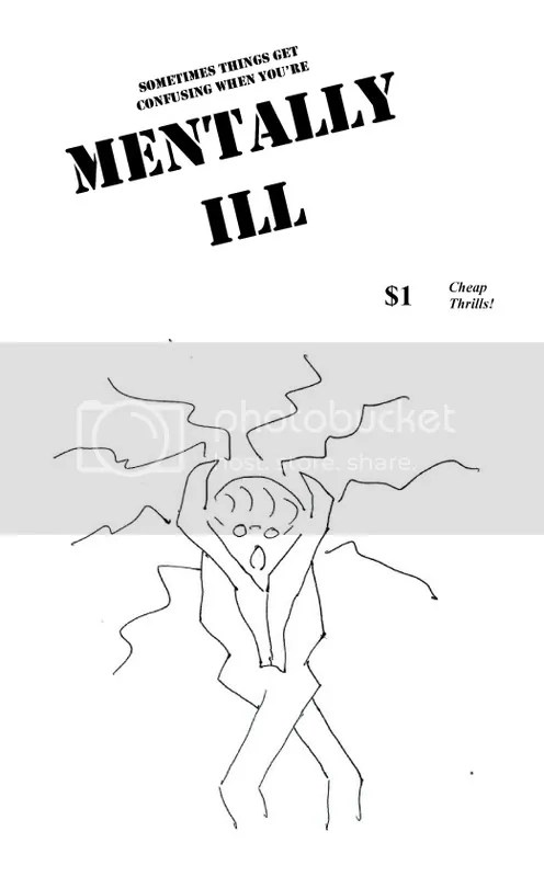 Cover of Mentally Ill zine