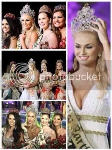 Miss Earth Elemental Crowns