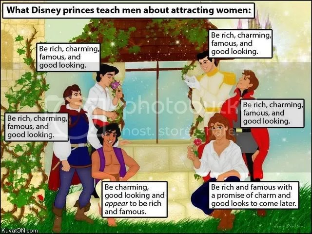 What Disney Company teach men about
